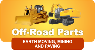 Construction parts - off road earth moving